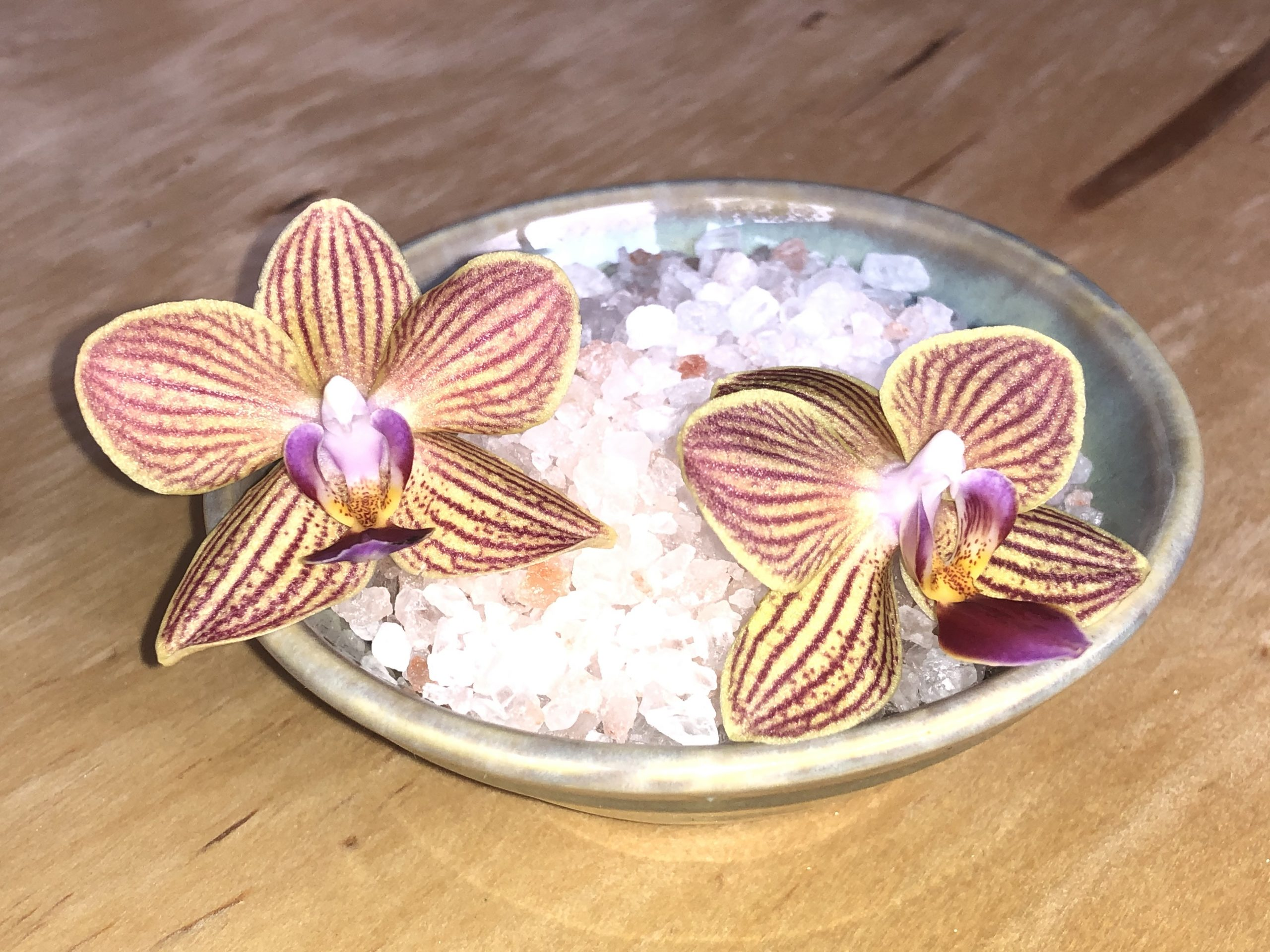 Sea Salt & Orchid Scented Candle